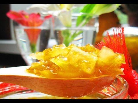 Рецепты кабачка и лимон варенье