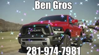 BEN GROS 281-974- 7981 CALL NOW E-Z CREDIT FINANCING