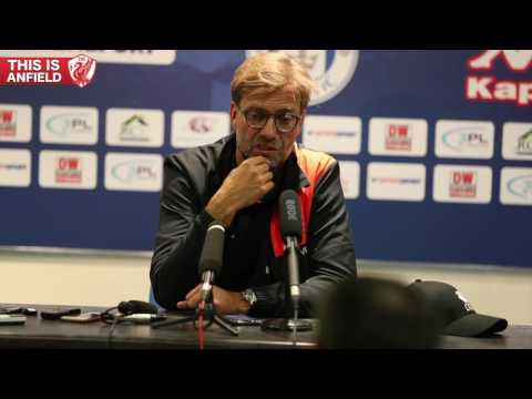 Wigan 0-2 Liverpool: Klopp's post-match press conference