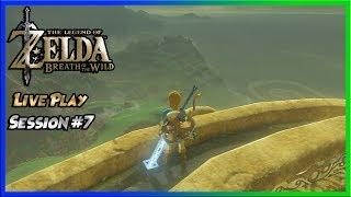 "  The Legend of Zelda: Breath of the Wild   Live Play Session #7 ""Tarrey-ing around Akkala"""