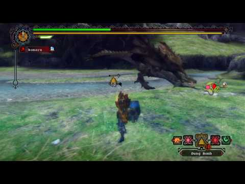【Wii】 MH3 US ver. - Online 6☆ Quest: Double Trouble [1/4]