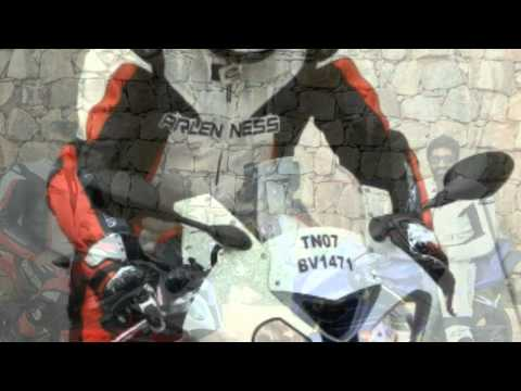 Superstar Ajith Bike Ride From Chennai To Bangalore On Bmw S1000rr video