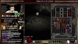Diablo 2 - Median XL Speedrun (Sorc) - 2:27:35