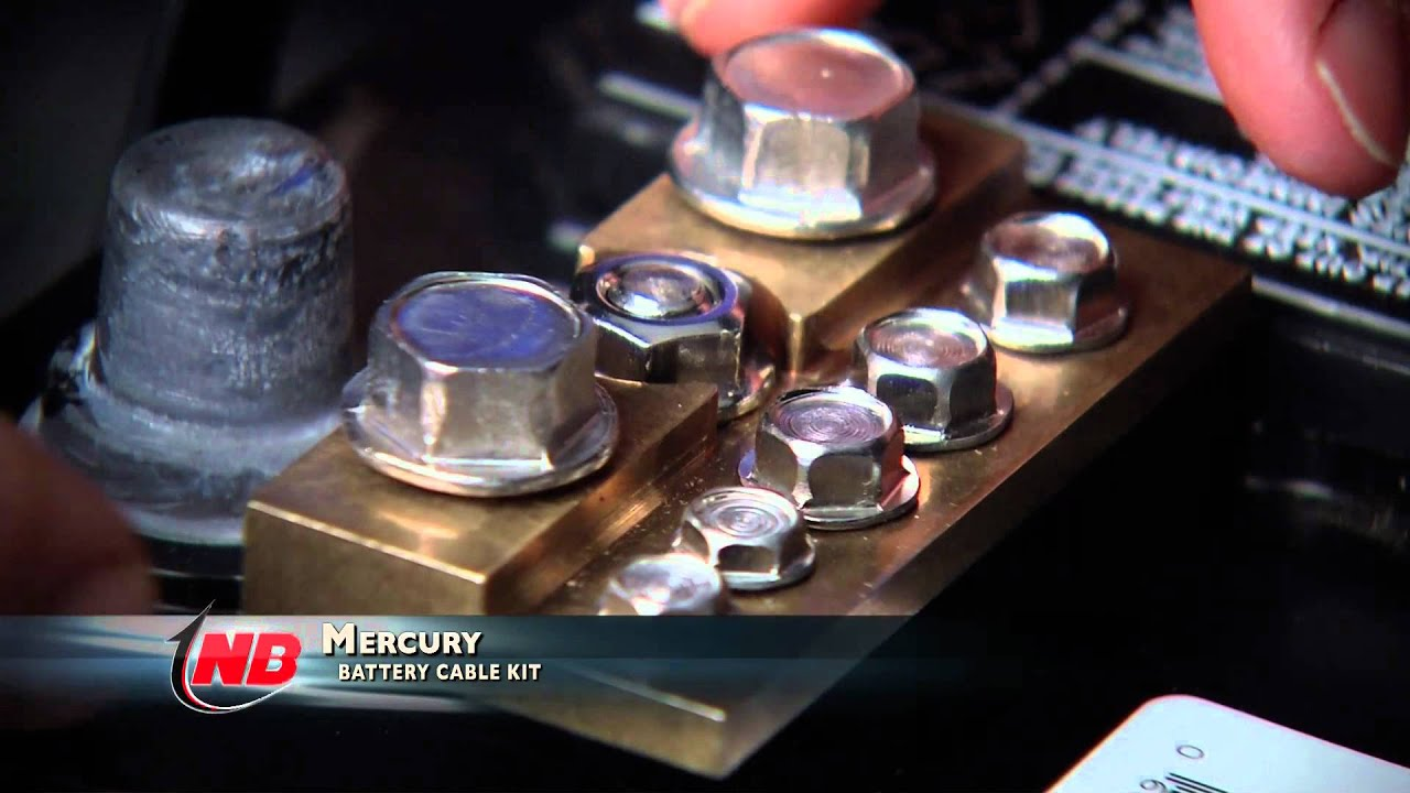 Hot Topic Mercury Quicksilver Battery Terminal Kit