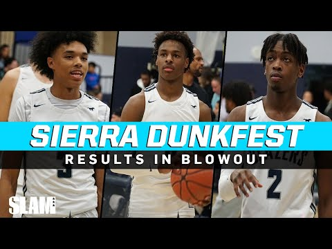 Zaire Wade IS BACK! Sierra Canyon DUNKFEST RESULTS IN BLOWOUT 🤯
