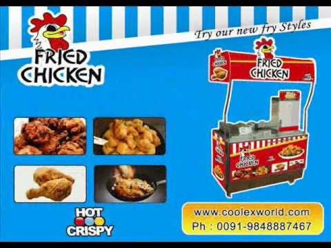 fried chicken vending machine