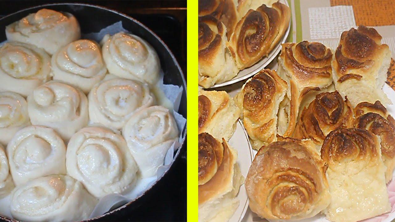 Дрожжевые булочки простой