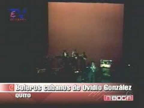 Boleros cubanos de Ovidio González