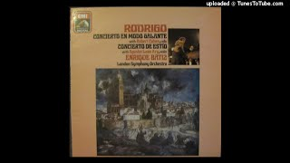 Joaquín Rodrigo : Concierto de estío for violin and orchestra (1943)