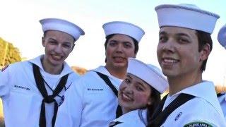 Sea Scout and Quartermaster Award recipient Michael Nelle