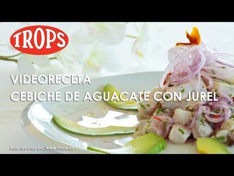 Videoreceta Cebiche de Aguacate TROPS con Jurel.