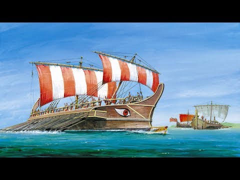 Технологии древних цивилизаций: Корабли античности. Документальный фильм