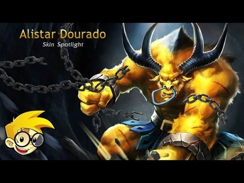 League of Legends Skin Spotlight - Alistar Dourado