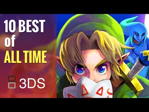Top 10 Best 3DS Games of All Time