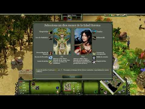DIRECTO Age of Mythology: Extended Edition - Invocando al Titán