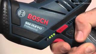 Sierra sable a bateria litio Bosch GSA 10,8 V LI Prof