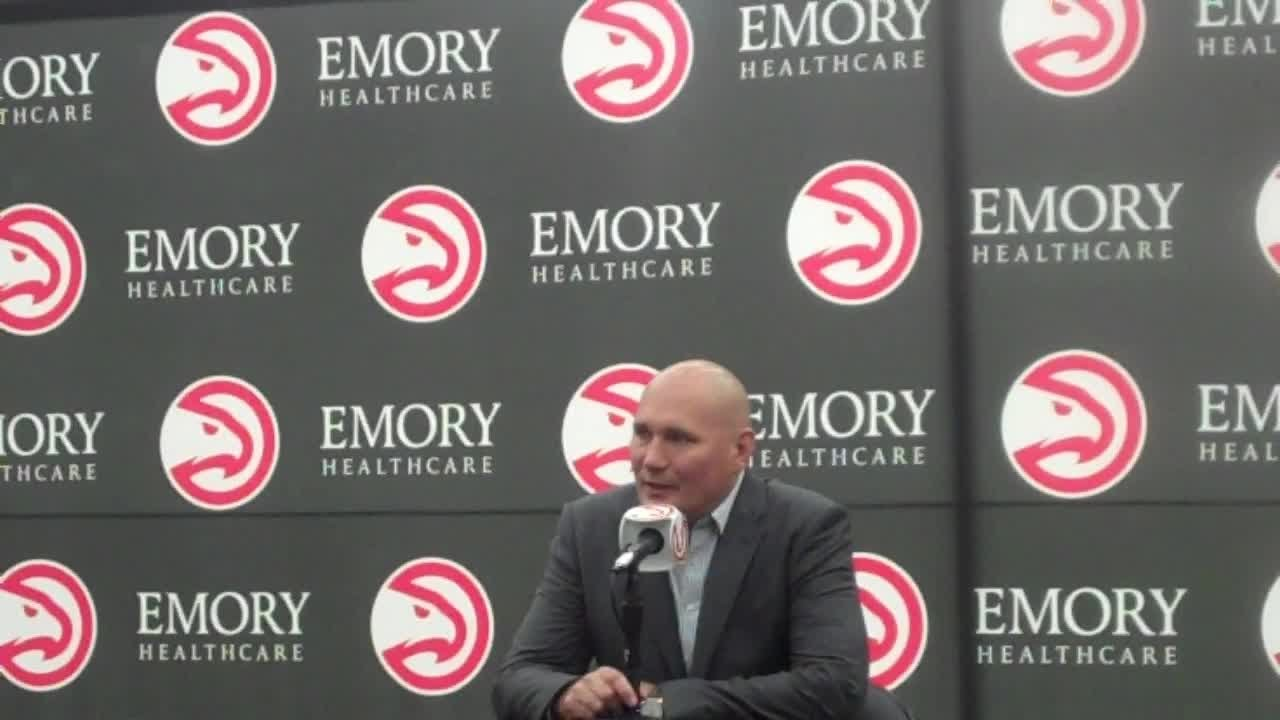 Hawks GM Travis Schlenk explains decision to acquire Trae Young in draft