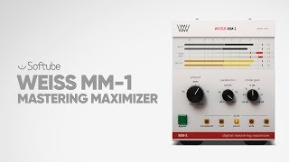 Weiss MM-1 Mastering Maximizer plug-in - Softube