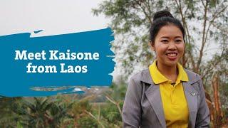 Meet Kaisone: Girls' Education Graduate Turned Community Role Model