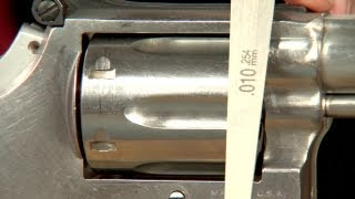Gunsmithing - Correcting Excess Cylinder Endshake on a S&W Revolver