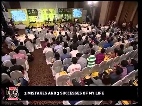 Chetan Bhagat speaks on the 3 Mistakes 3 Successes of his life - part 2