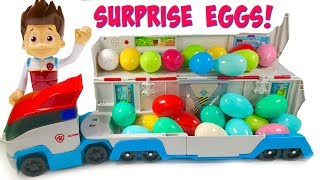 Learn Colors with Paw Patrol Patroller Surprise Eggs Learning for Kids & Children  | Fizzy Fun Toys