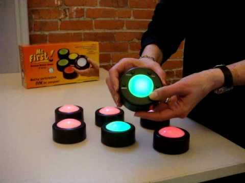 Me First Wireless Game Buzzer System For Learning