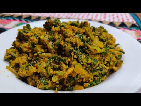Breakfast Lunch Ya Dinner Main Banae yeh new recipe | Anda Palak Bhurji | Egg Bhurji