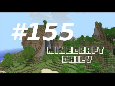 Minecraft Daily 13/12/11 (155) - Cake! Drum Kit! Meet the Admin!