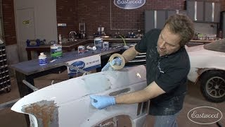 How To Apply Body Filler - Mixing, Spreading, Sanding & Tips - Part 3 of 3 - Kevin Tetz at Eastwood
