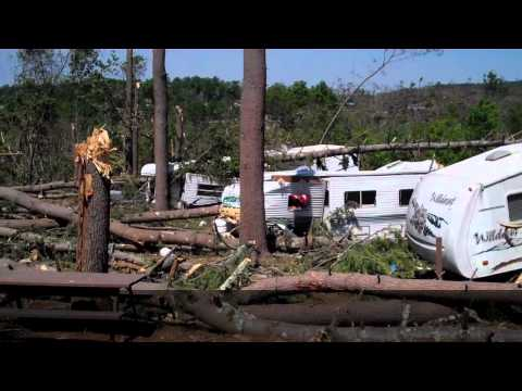The Complete Devastation of Quinebaug Cove Campground, Brimfield, Mass