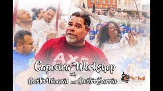 Capoeira-workshop with Mestre Tubarão and Mestre Barrão!