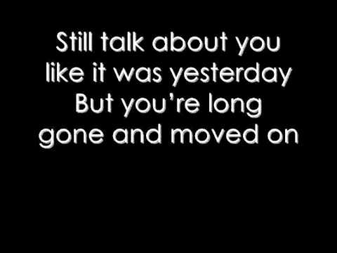 The script Lyrics Long gone and moved on Lyrics