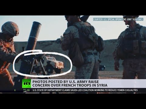 Warning flag? Photos released by US Army raise concern over French troops in Syria
