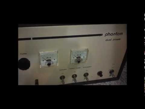 Two late model D&A linear amplifiers Phantom Dual Power & PDX-400
