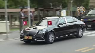 Erdoğan BBP'ye böyle geldi Mustafa Destici görüşmesi