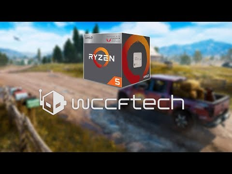 Far Cry 5 Running on Ryzen 5 2400G