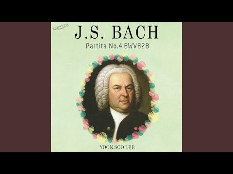 Бах Иоганн Себастьян - Partita No 4 In D Bwv 828 Sarabande