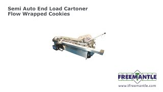 T Freemantle Ltd - Semi Cartoner Flow Wrapped Cookies