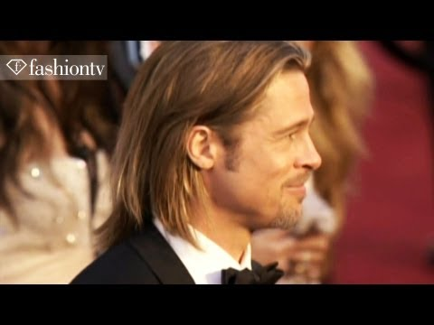 Brad Pitt, Angelina Jolie, Gwyneth Paltrow, Natalie Portman: Oscars 2012 Red Carpet! | Fashiontv video
