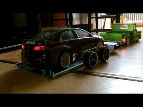 How to Build: a SPECIAL RC Trailer for Driftcars