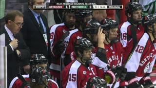 2016 NCAA Men's Ice Hockey Tournament: North Dakota vs. Northeastern