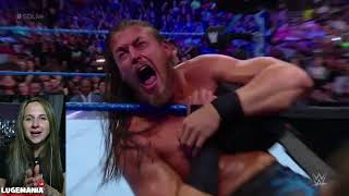 WWE Smackdown 5/15/18 Big Cass cant handle Daniel Bryan