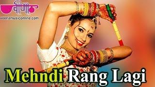 Navratri Garba Songs 2018 Hindi   Mehndi Rang Lagi Full HD    Hit Dandiya Songs