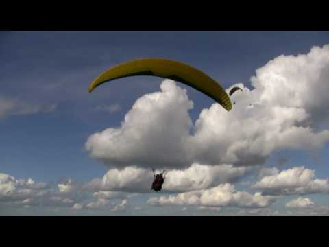 Paragliding HD Video / timelapse with Topaz Effects Video