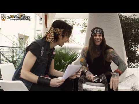 Steel Interview Steel Panther Stix Interview