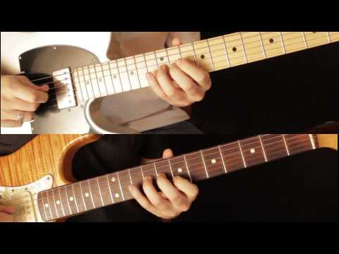 Como Tocar el Solo de Hotel California The Eagles Tutorial de Guitarra Electrica Parte 1