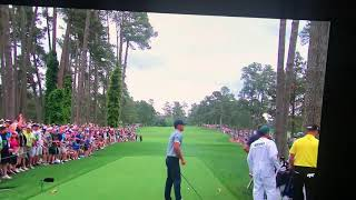 Michael Phelps reaction to Tiger Woods shot on the 16th 2019 Masters Better version