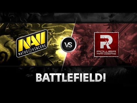Huge battlefield by NaVi vs PR  D2CL S4