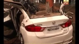 Massive accident claims four lives in Ludhiana